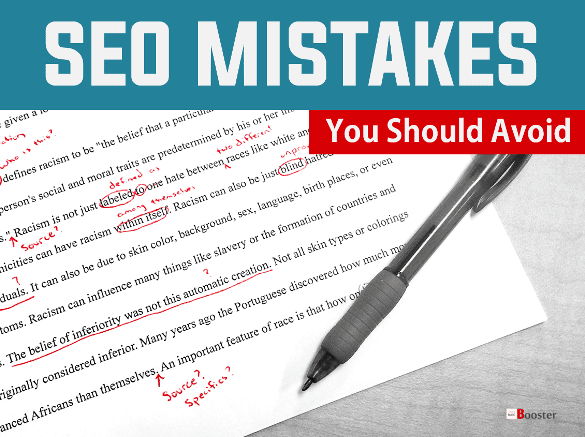 Top SEO Mistakes You Should Avoid