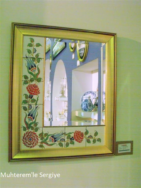 porcelain mirror painting