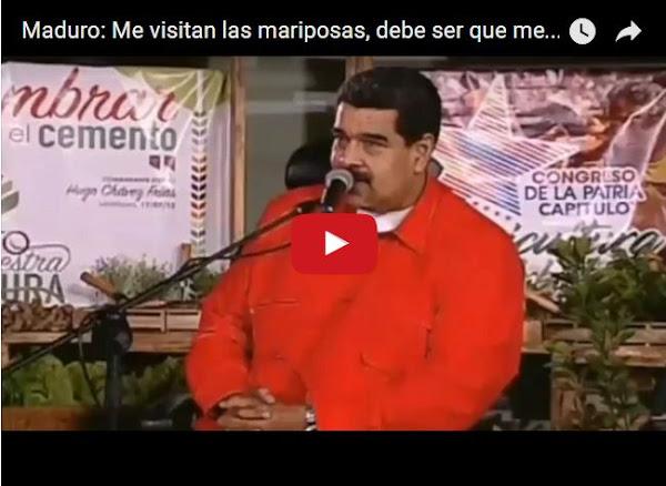Maduro asegura que es un Mariposón en Cadena Nacional