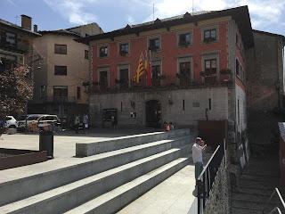 Plaça de l'Ajuntament de Puigcerdà