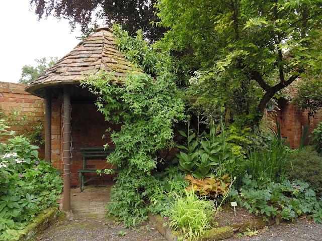 cegła w ogrodzie