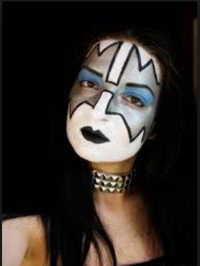 Kiss Spaceman Face Paint