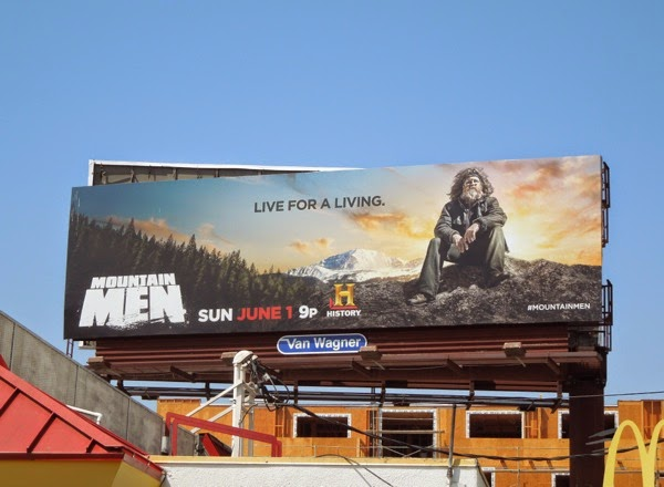 Mountain Men season 3 Live for a living billboard