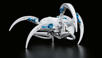 Keren, Robot Laba-laba Ini Bisa Berjalan Dan Berguling