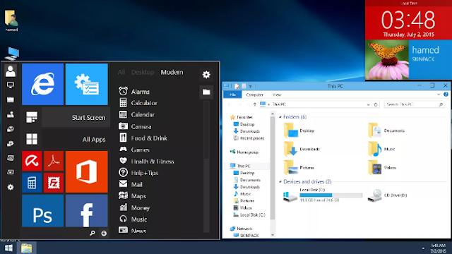 Skin Pack Windows 10 Versi Terbaru Kompatibel Untuk Semua Windows