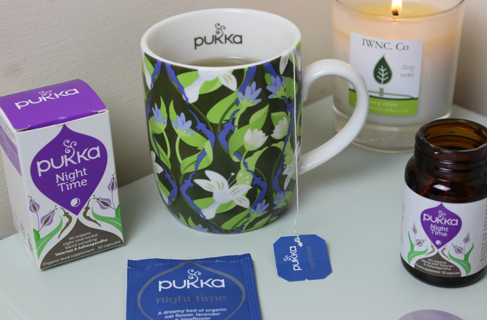 A picture of Pukka Night Time Tea