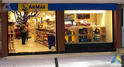 projeto arquitetura fachada letreiro pet shop Ar Mar