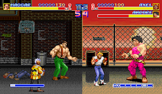 Final Fight versus Street o Rage