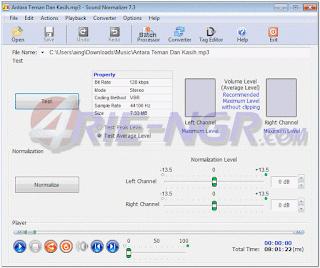 Sound Normalizer 7.9 Final Full Terbaru