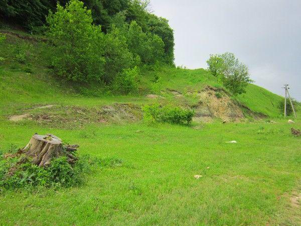 Landscape near village Dichkiv of Ternopil region in Ukraine