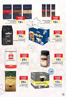 CATALOG Carrefour Craciun decembrie 2018 promotie cafea