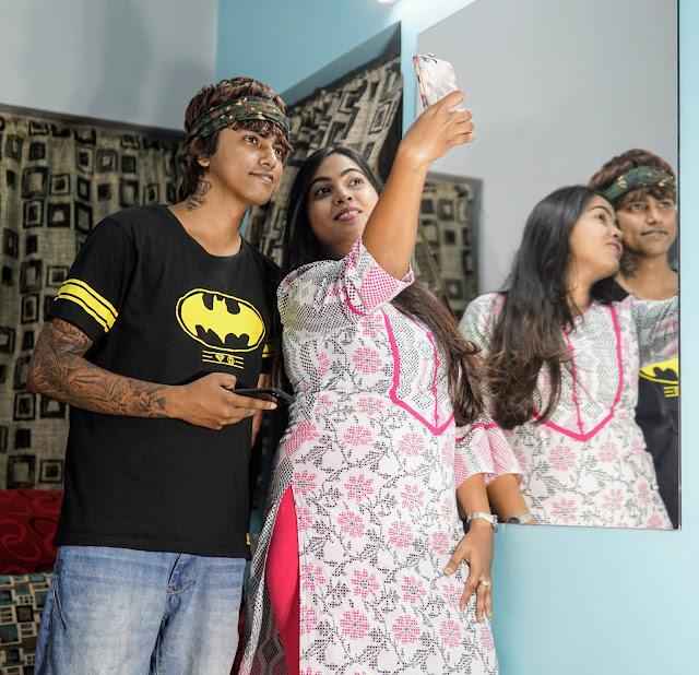 Sourajit Saha With Sudipta Roy