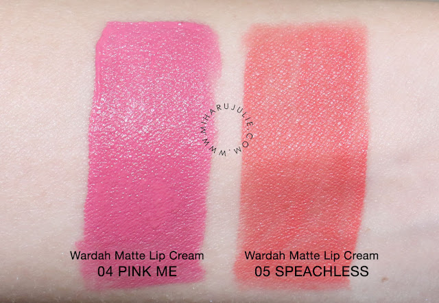 WARDAH Exclusive Matte Lip Cream review & swatch