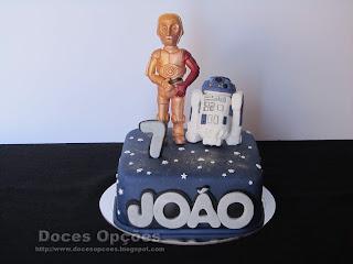 birthday cake star wars doces opções bragança
