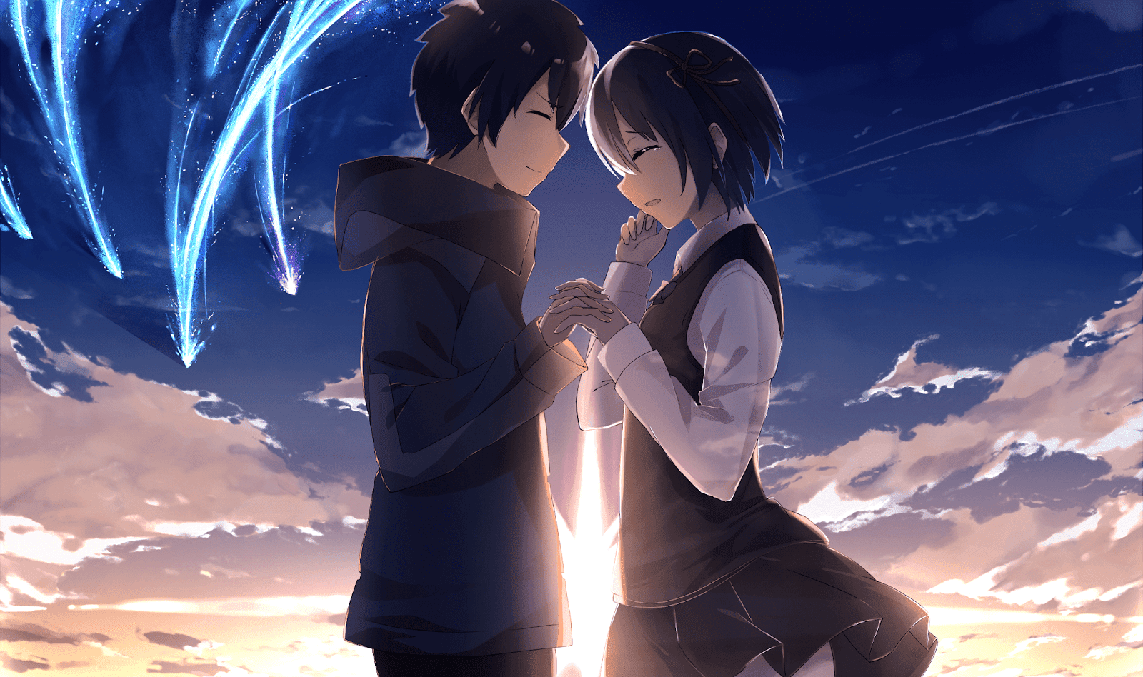 AowVN%2B%252837%2529 - [ Hình Nền ] Anime Your Name. - Kimi no Nawa full HD cực đẹp | Anime Wallpaper