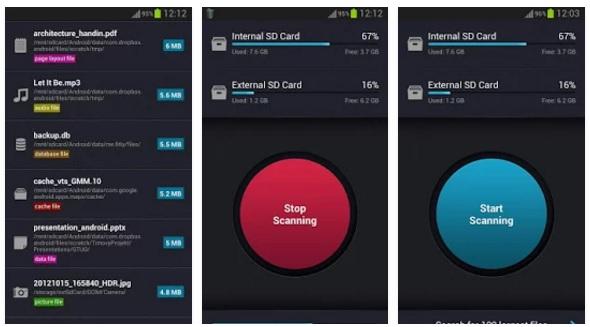 برنامج لتنظيف بطاقة الذاكرة للاندرويد وتوفير مساحة حرة وتحسين اداء نظامك SD card cleaner - Clear.apk