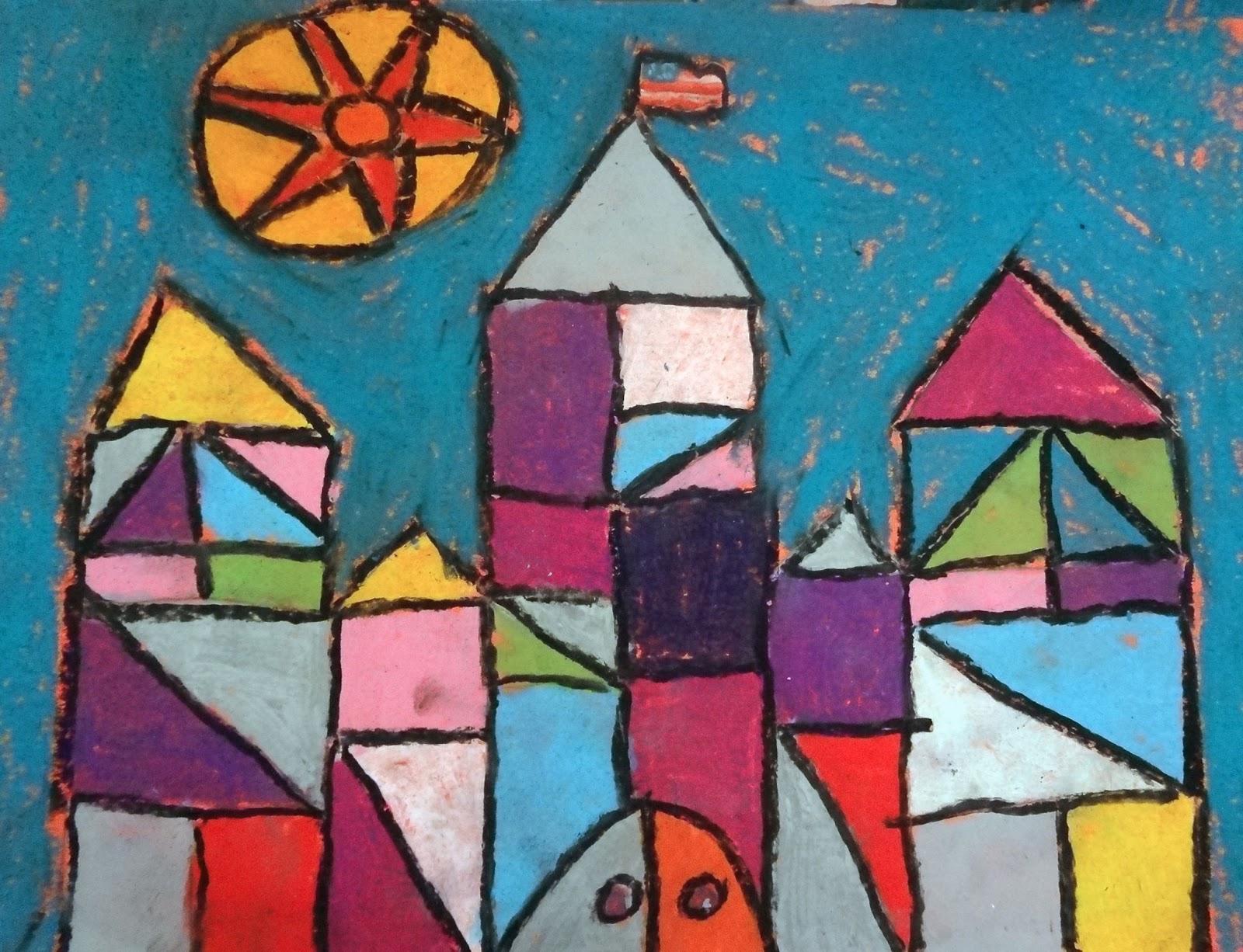 The Talking Walls Paul Klee Cubism Castles