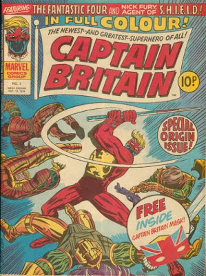 Marvel UK, Captain Britain #1