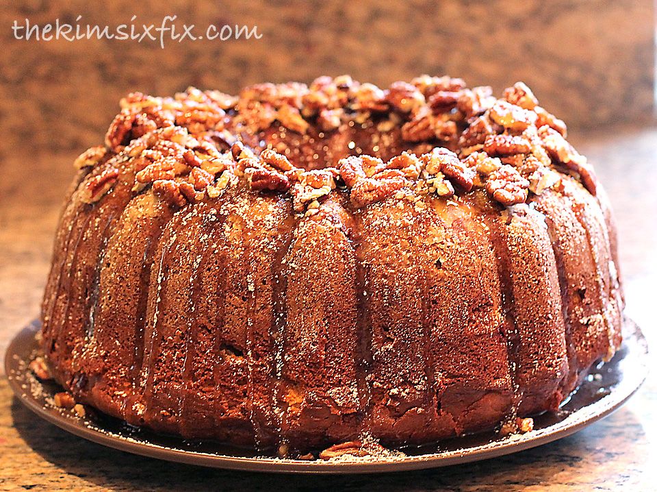 Apple Bundt Cake With Cream Cheese Filling
