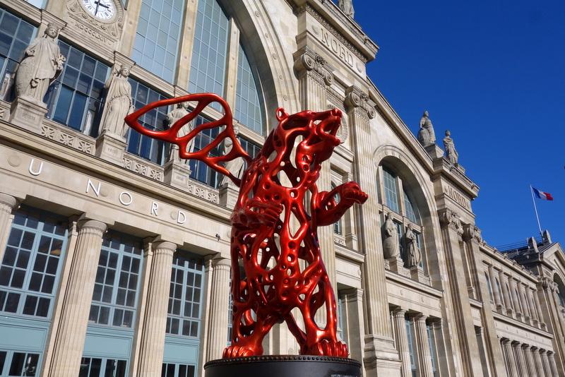 Paris angel bear une oeuvre au propos cologique de - Cinema bruay la buissiere porte nord ...
