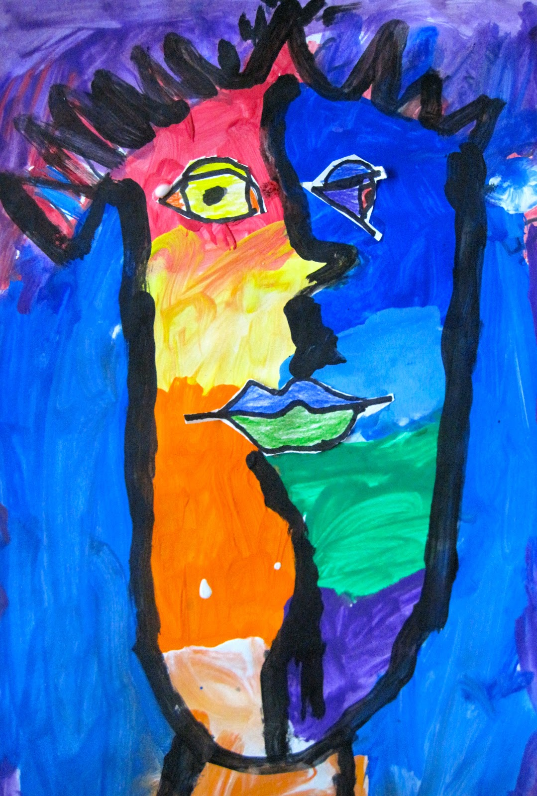 Princess Artypants Visual Arts in the PYP Picasso Faces