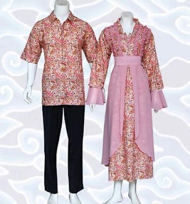 Model Baju Batik Kombinasi Sifon Terbaru