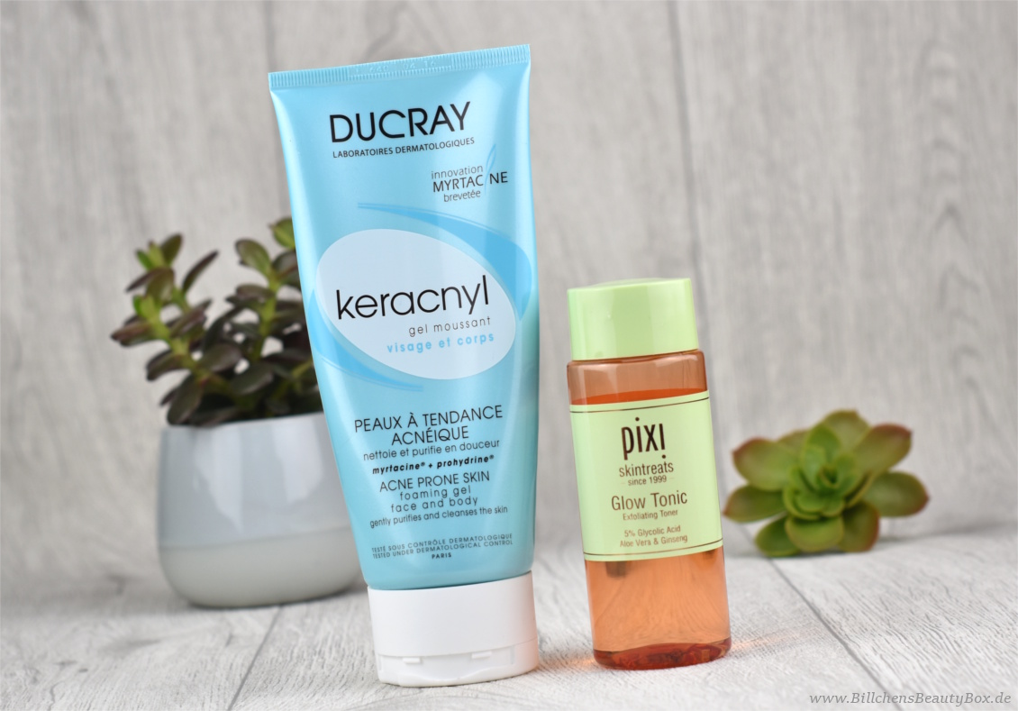 Tried & Tested - 5 Kurzreviews - DUCRAY keracnyl Waschgel & PIXI Glow Tonic