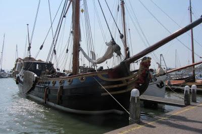 Volendam vissersboot