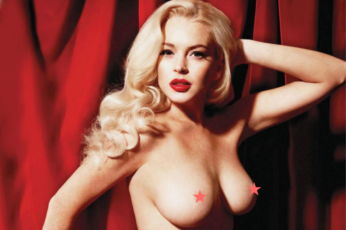 Lohan Nude Picture 116