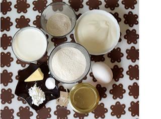 Butter Milch Kuchen Rezept für Hunde Zutaten