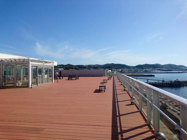 渚の駅たてやま NAGISA PLACE TATEYAMA 展望デッキ