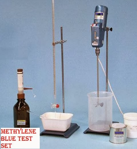 Methylene Blue Test Set for determining clay mineral in concrete aggregate