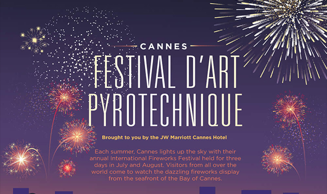 Festival D'art pyrotechnique cannes