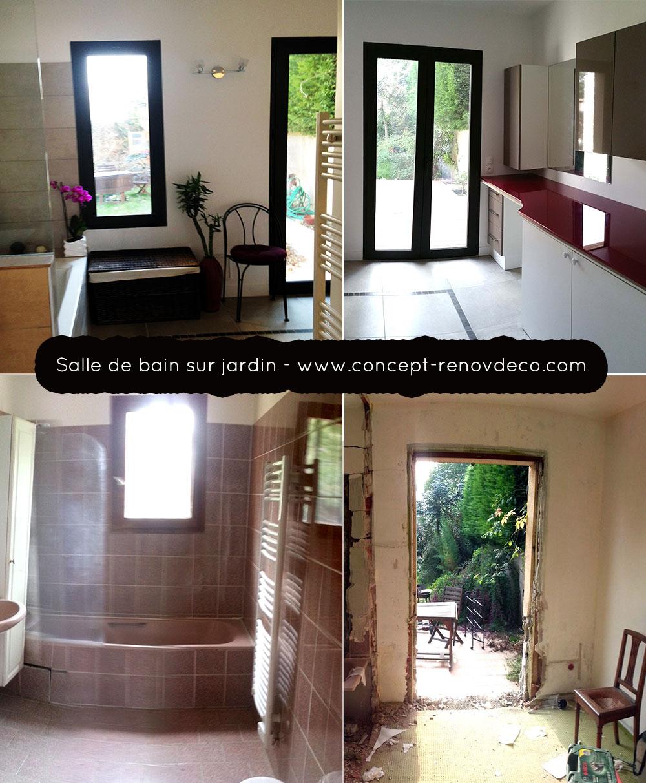 Rénovation maisons et appartements: Salle de bain / Lumière ...