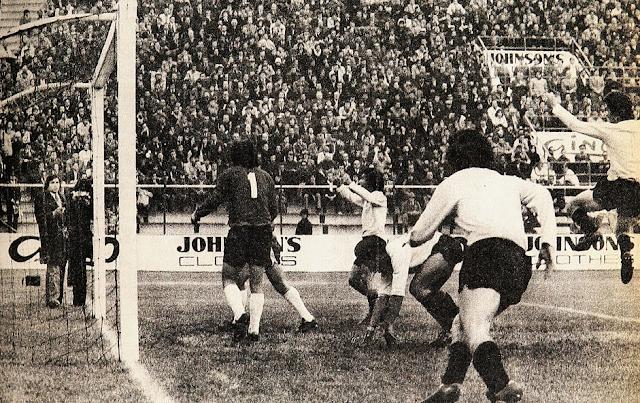 Chile y Uruguay en Copa Juan Pinto Durán 1975, partido de vuelta