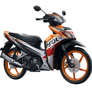 Harga New Honda Blade 125 R Repsol Fi April 2016