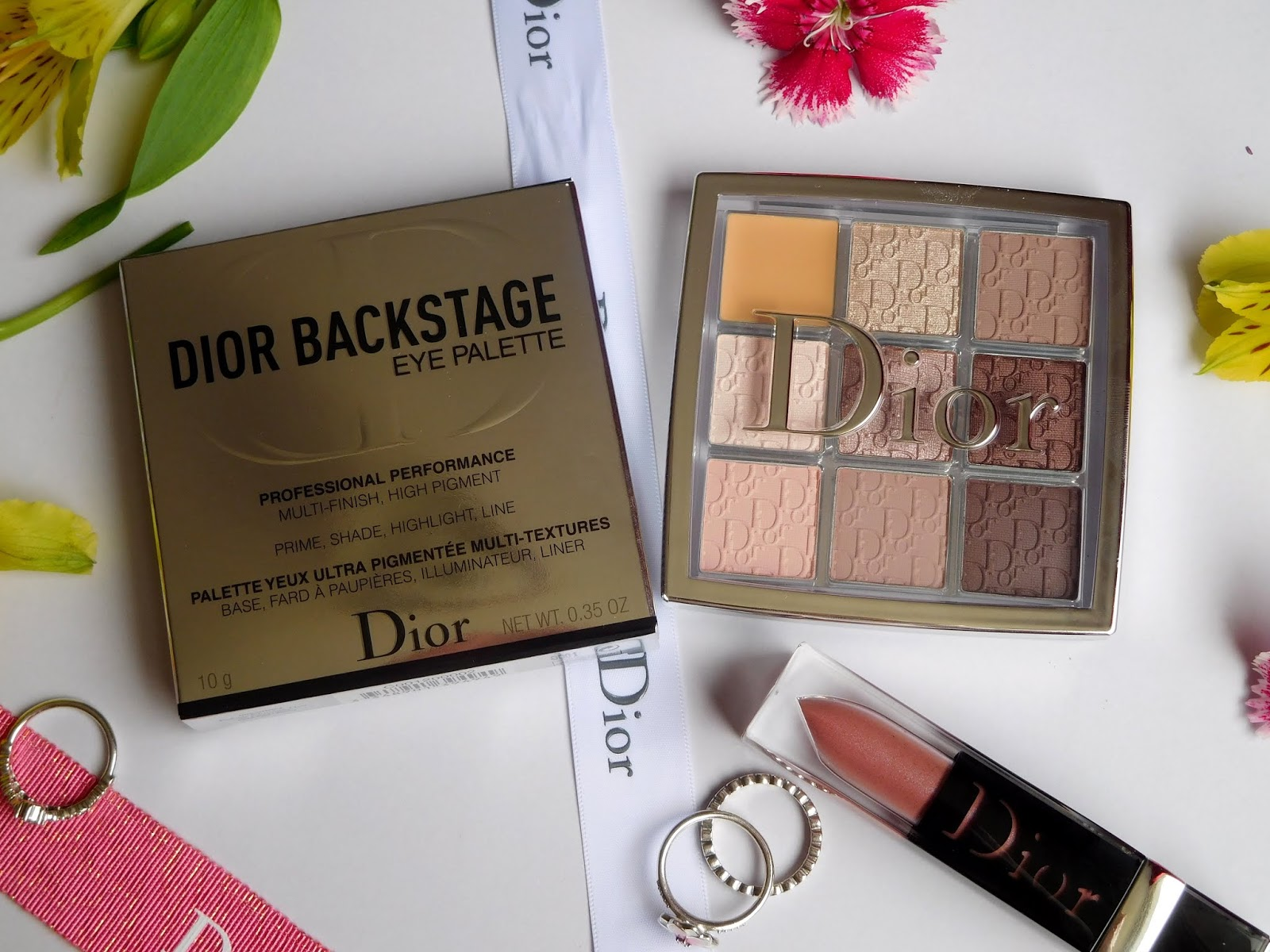 Dior Backstage Eye Palette in 002 Cool Neutrals Review | Shimmering ...
