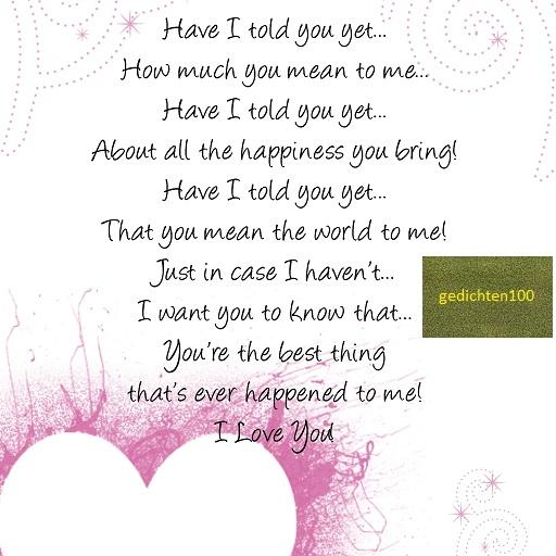 Huwelijk Zus Gedicht
