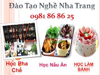 Học làm bánh tại Nha Trang