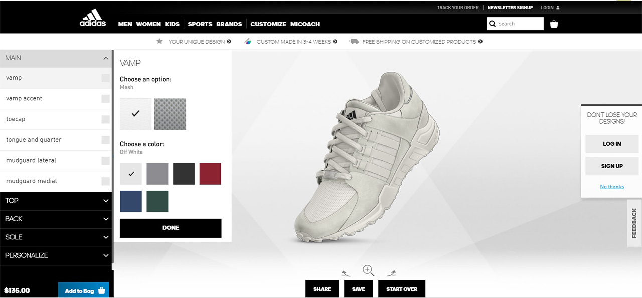 fb1bfd2f2686 The Typical Guy  You can now customize your own adidas sneaker!