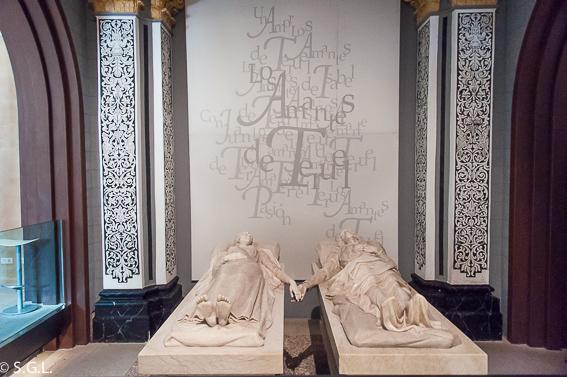 Sepulcro los amantes de Teruel, 800 años de un amor imposible