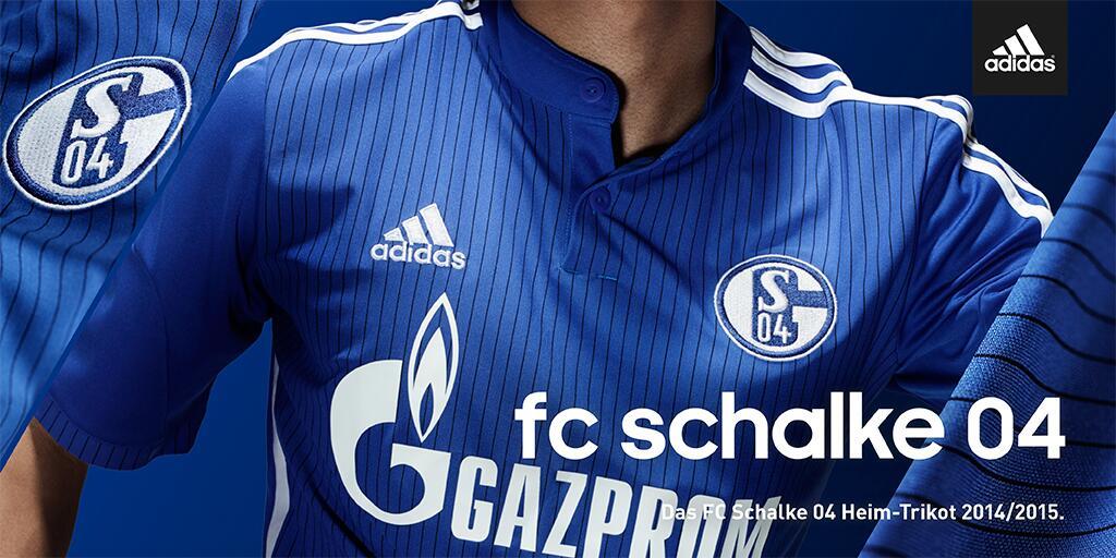 516c418cb2 GT Camisas  Camisas Schalke 04 2015   2016 - Home