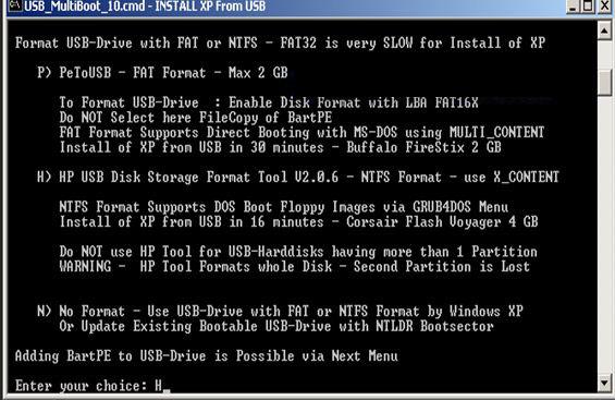 memilih software untuk memformat FD