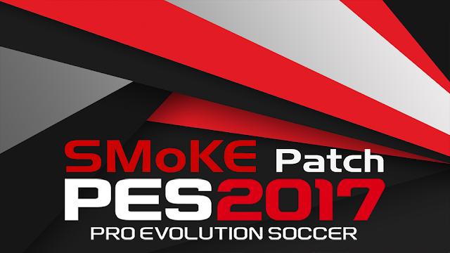 Patch PES 2017 Terbaru dari SmoKE Patch 9.5 AIO