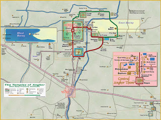 Mapa de Angkor.