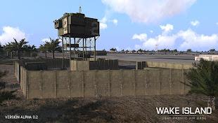 Arma 3 用 Wake 島マップ アドオン