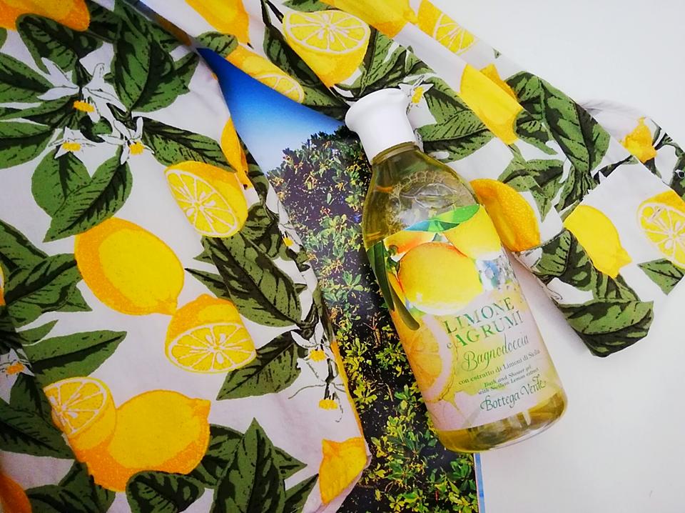 Bagno Doccia Bottega Verde : Il bagnodoccia al limone e agrumi di bottega verde con veri
