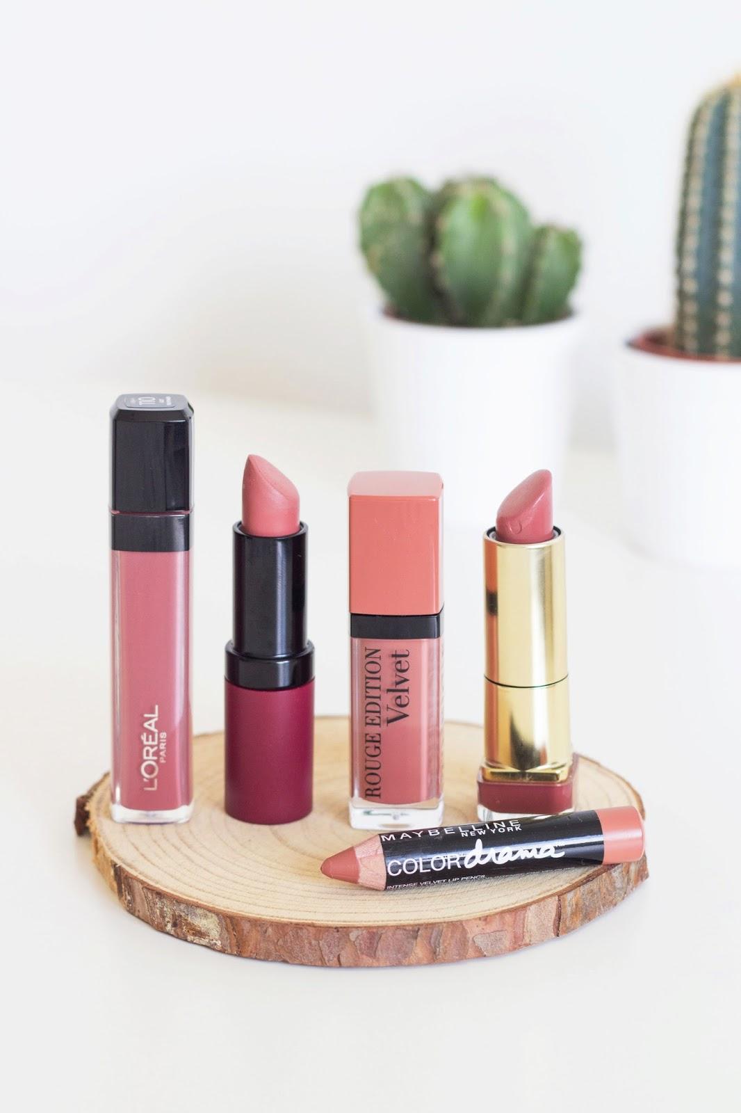 kali's inspiration: Top 5 Favorite Nude Lipsticks