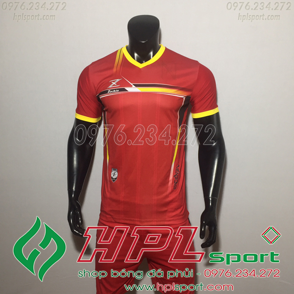Áo bóng đá ko logo Zavikia HAT Zavi Màu Đỏ