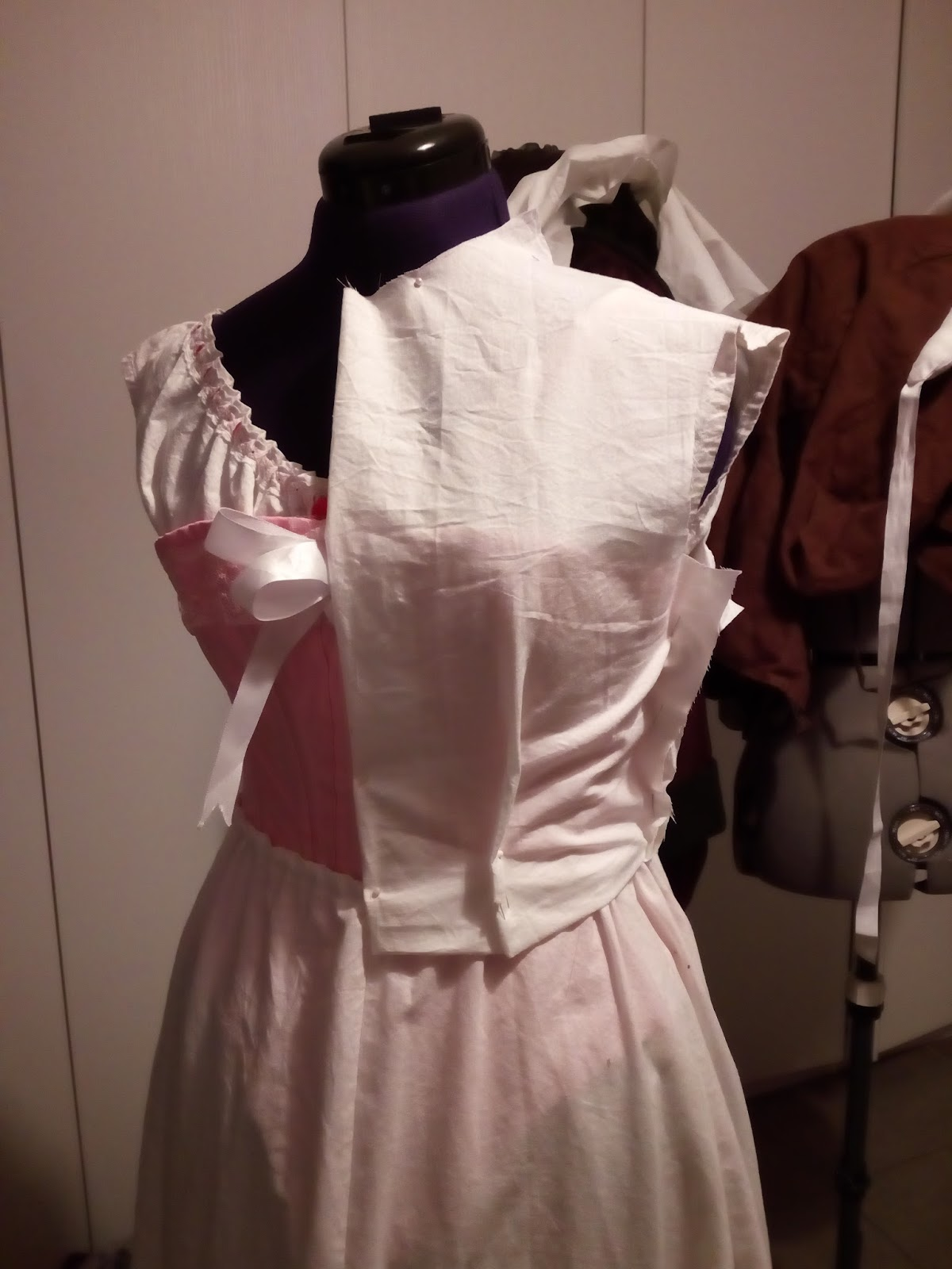 Making a black 1890s outfit, part 2